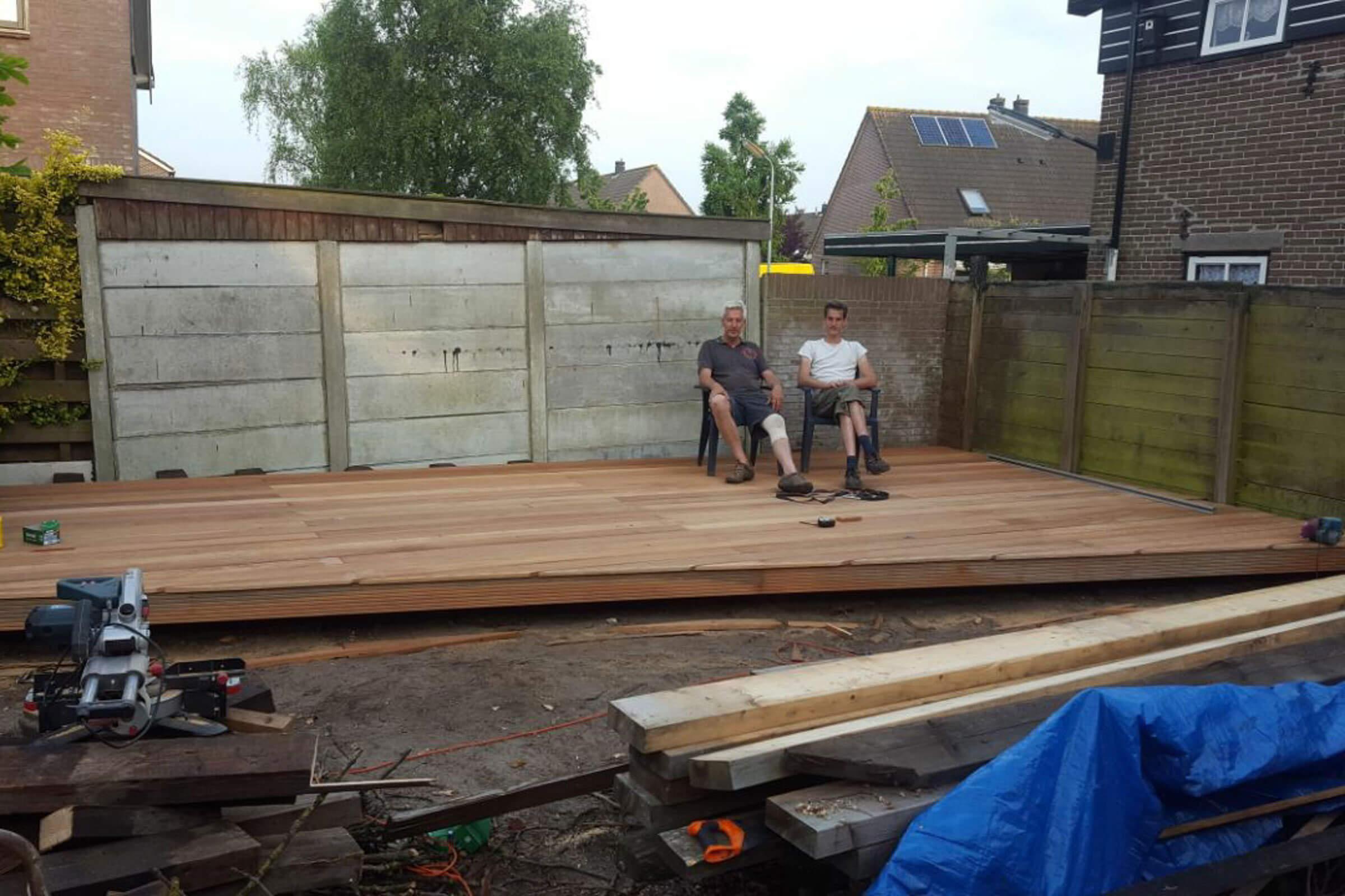 Project overkapping Broek op Langedijk